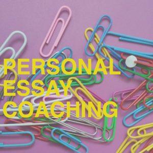 Personal essay coaching logo
